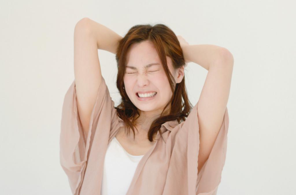 ストレス_女性